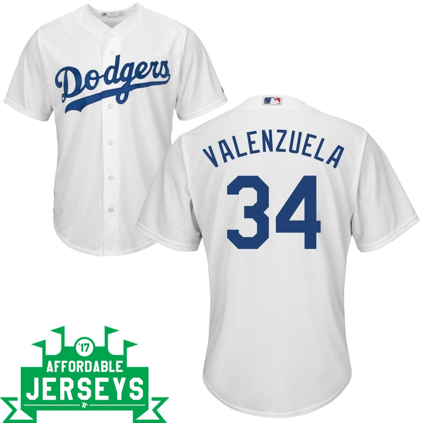 Fernando Valenzuela Youth Home Cool Base Player Jersey - AffordableJerseys.com
