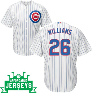 Billy Williams Home Cool Base Player Jersey - AffordableJerseys.com