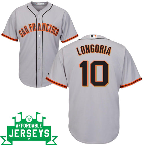 Evan Longoria Road Cool Base Player Jersey - AffordableJerseys.com