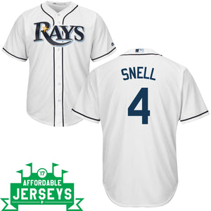Blake Snell Home Cool Base Player Jersey - AffordableJerseys.com
