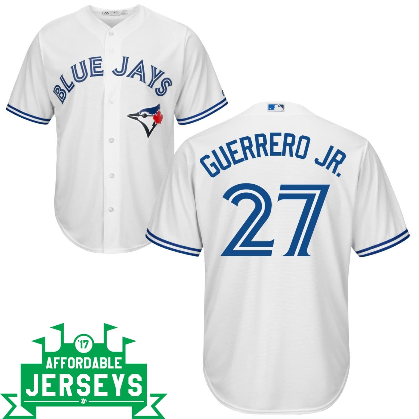 Vladimir Guerrero Jr. Home Cool Base Player Jersey - AffordableJerseys.com