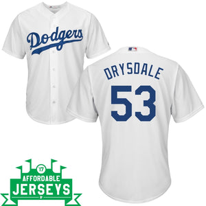 Don Drysdale Home Cool Base Player Jersey