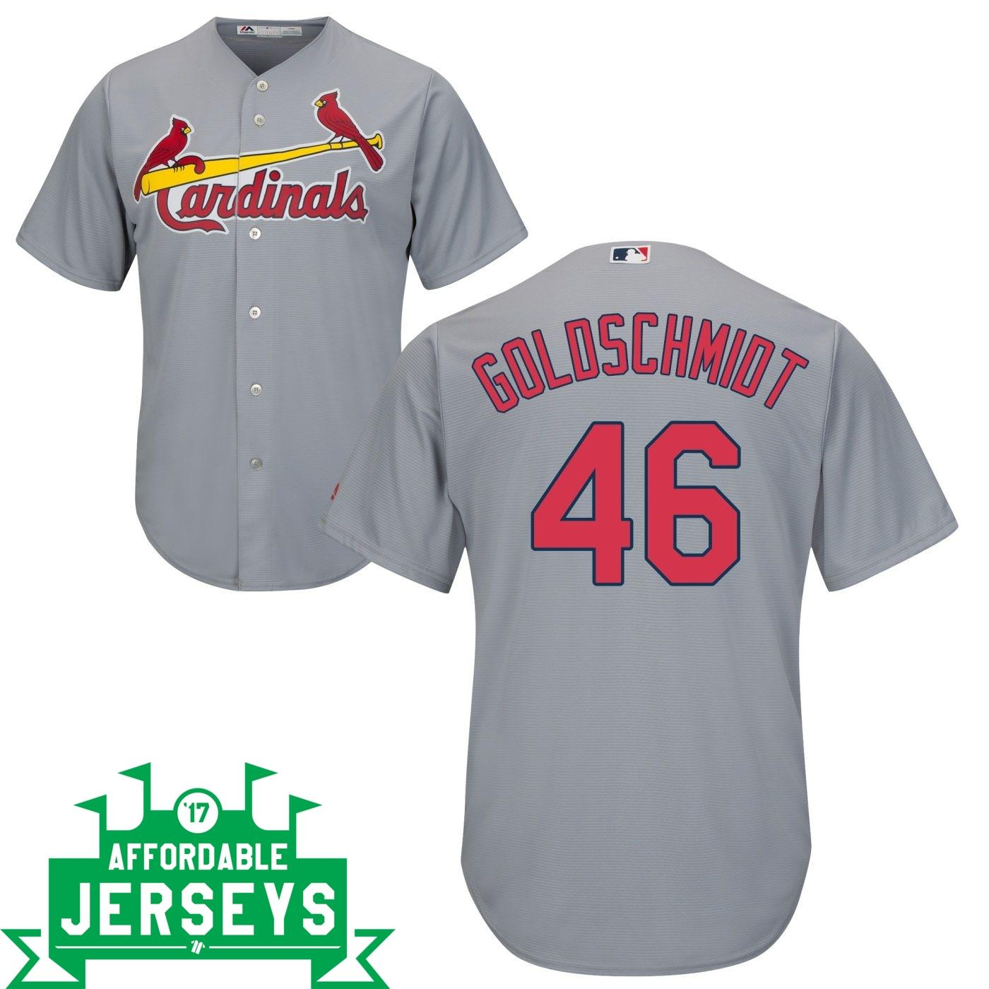 Paul Goldschmidt Road Cool Base Player Jersey - AffordableJerseys.com