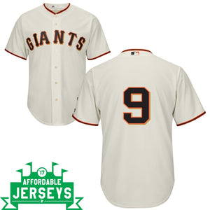 Brandon Belt Home Cool Base Player Jersey - AffordableJerseys.com