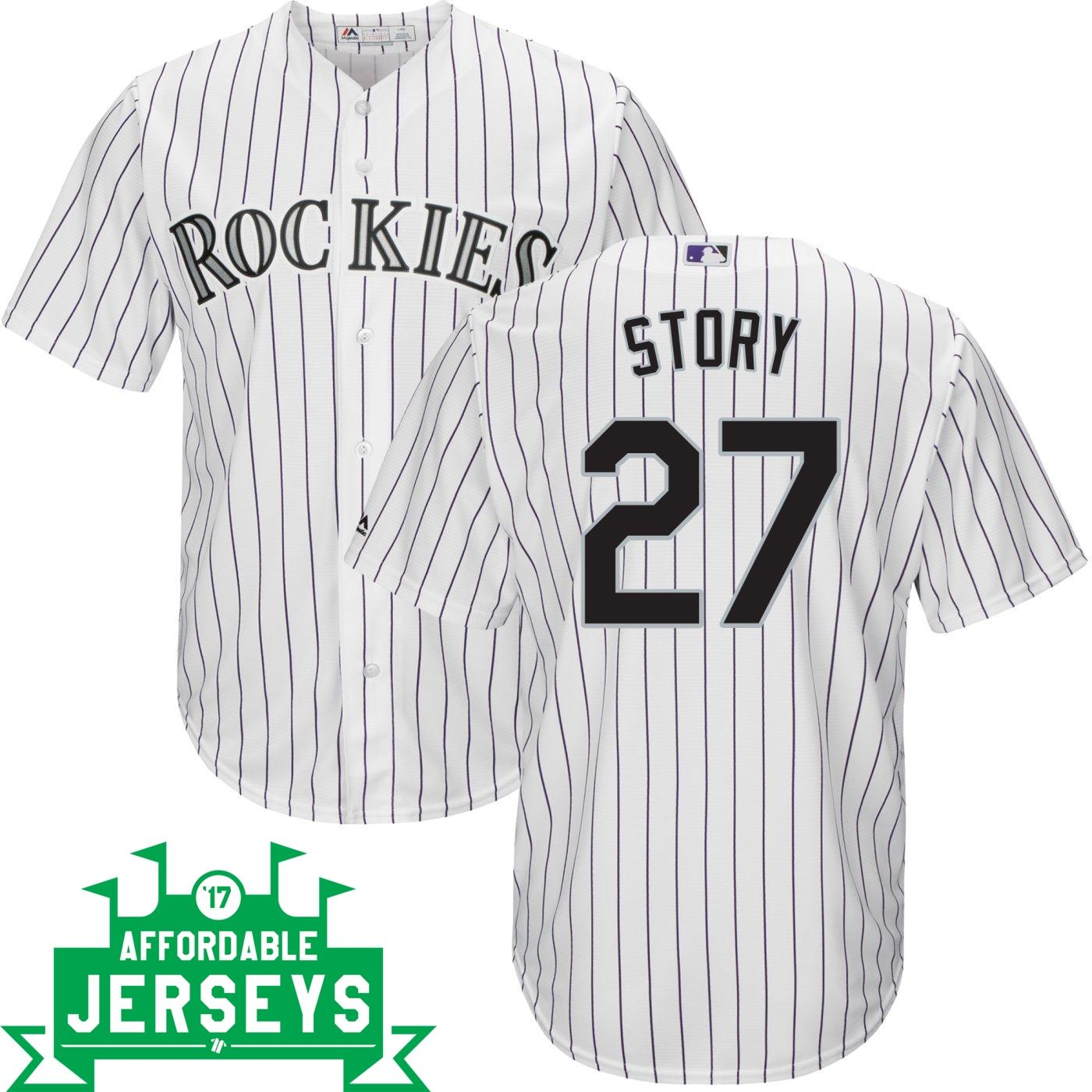 Trevor Story Home Cool Base Player Jersey