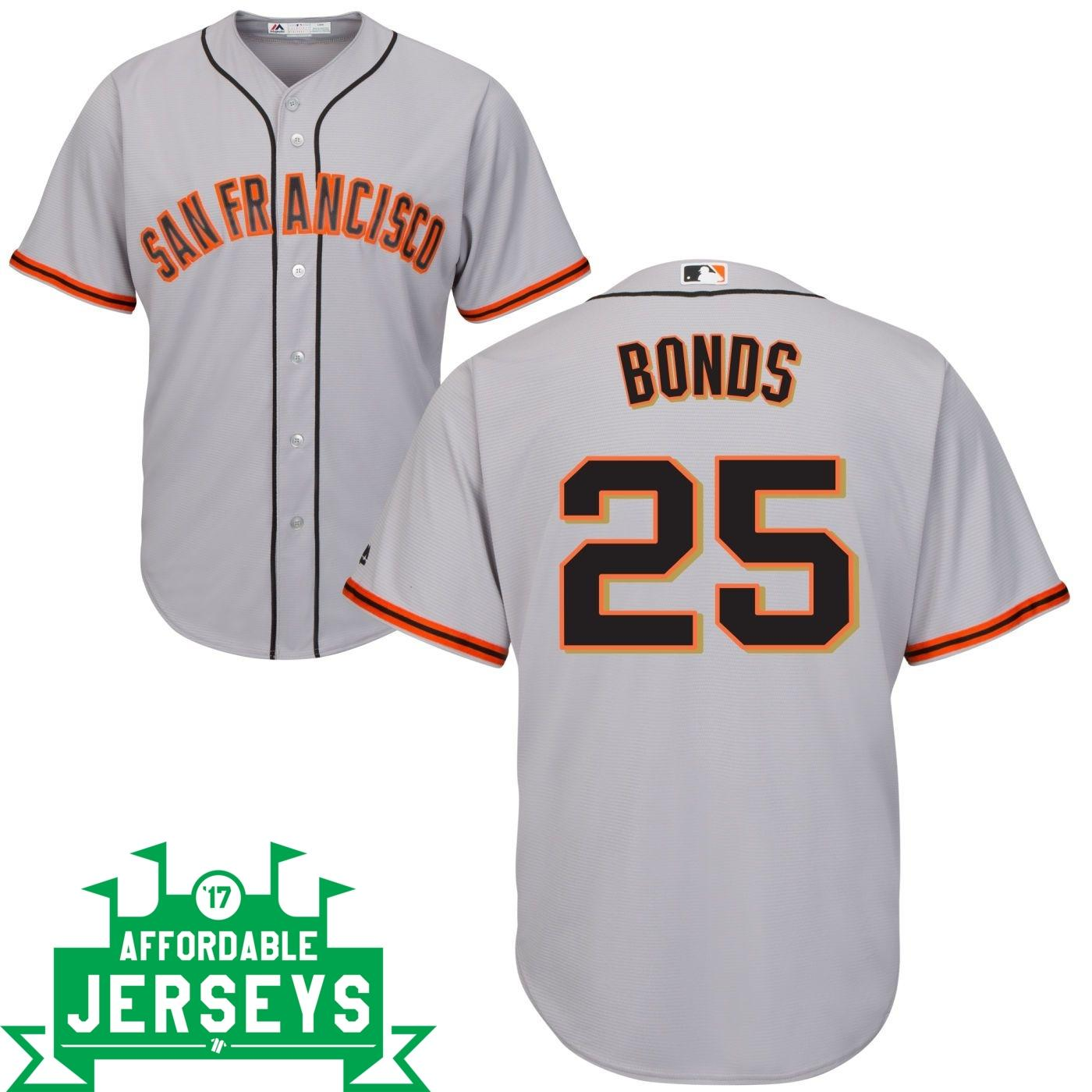 Barry Bonds Road Cool Base Player Jersey