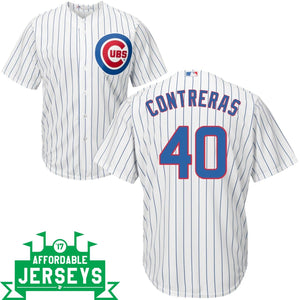 Wilson Contreras Home Cool Base Player Jersey - AffordableJerseys.com