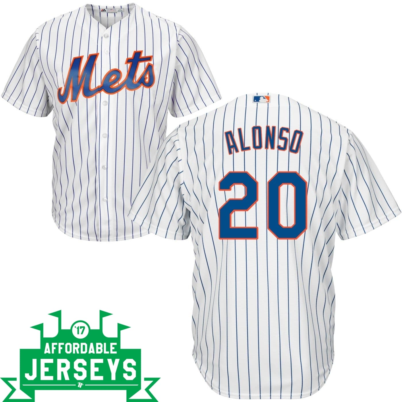 Pete Alonso Home Cool Base Player Jersey - AffordableJerseys.com