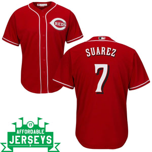 Eugenio Suarez Road Cool Base Player Jersey - AffordableJerseys.com