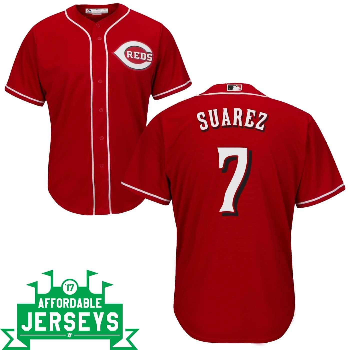 Eugenio Suarez Road Cool Base Player Jersey