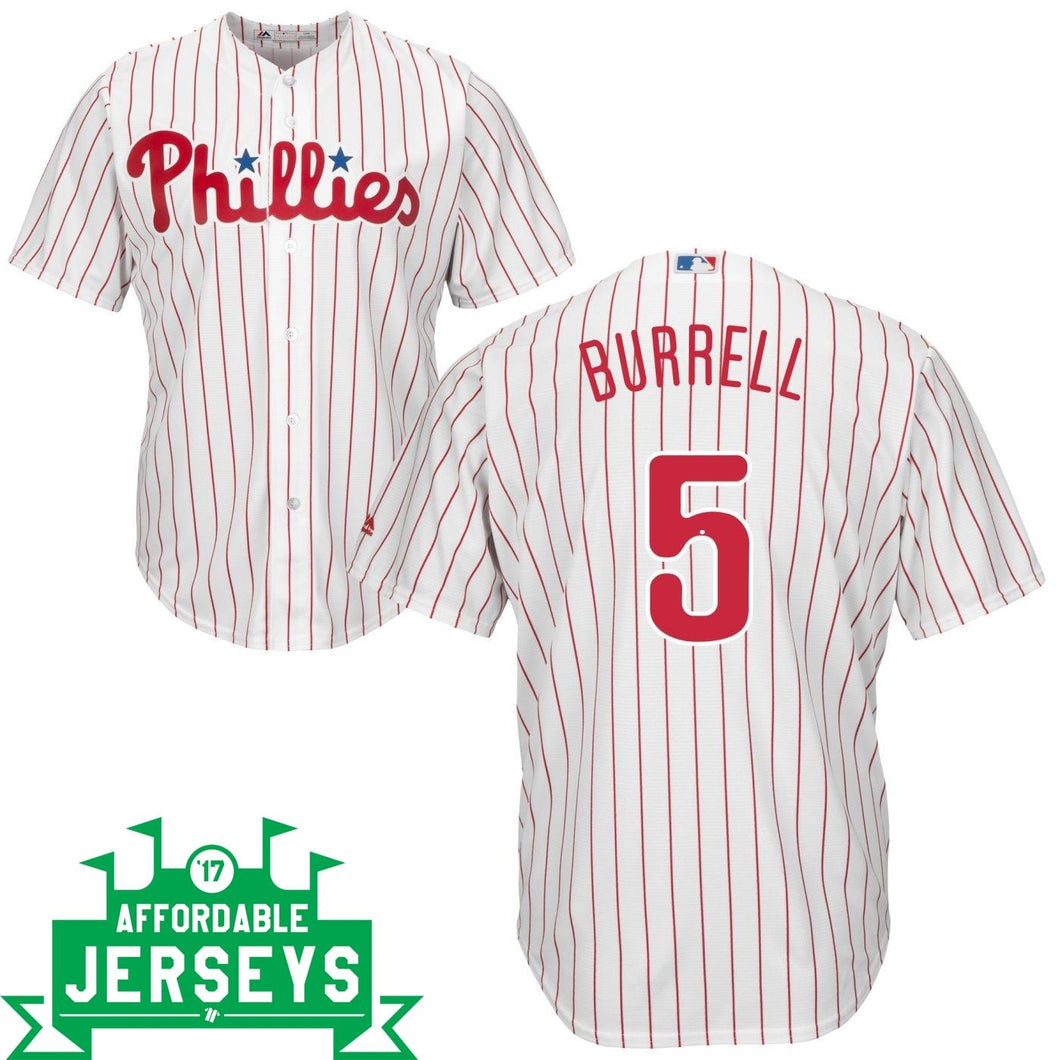 Pat Burrell Home Cool Base Player Jersey