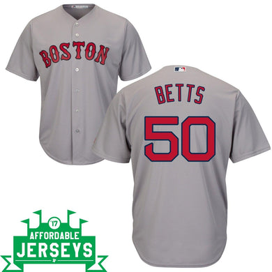 Mookie Betts Road Cool Base Player Jersey