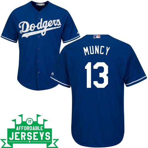Max Muncy Alternate Cool Base Player Jersey - AffordableJerseys.com