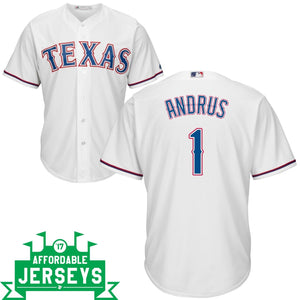 Elvis Andrus Home Cool Base Player Jersey