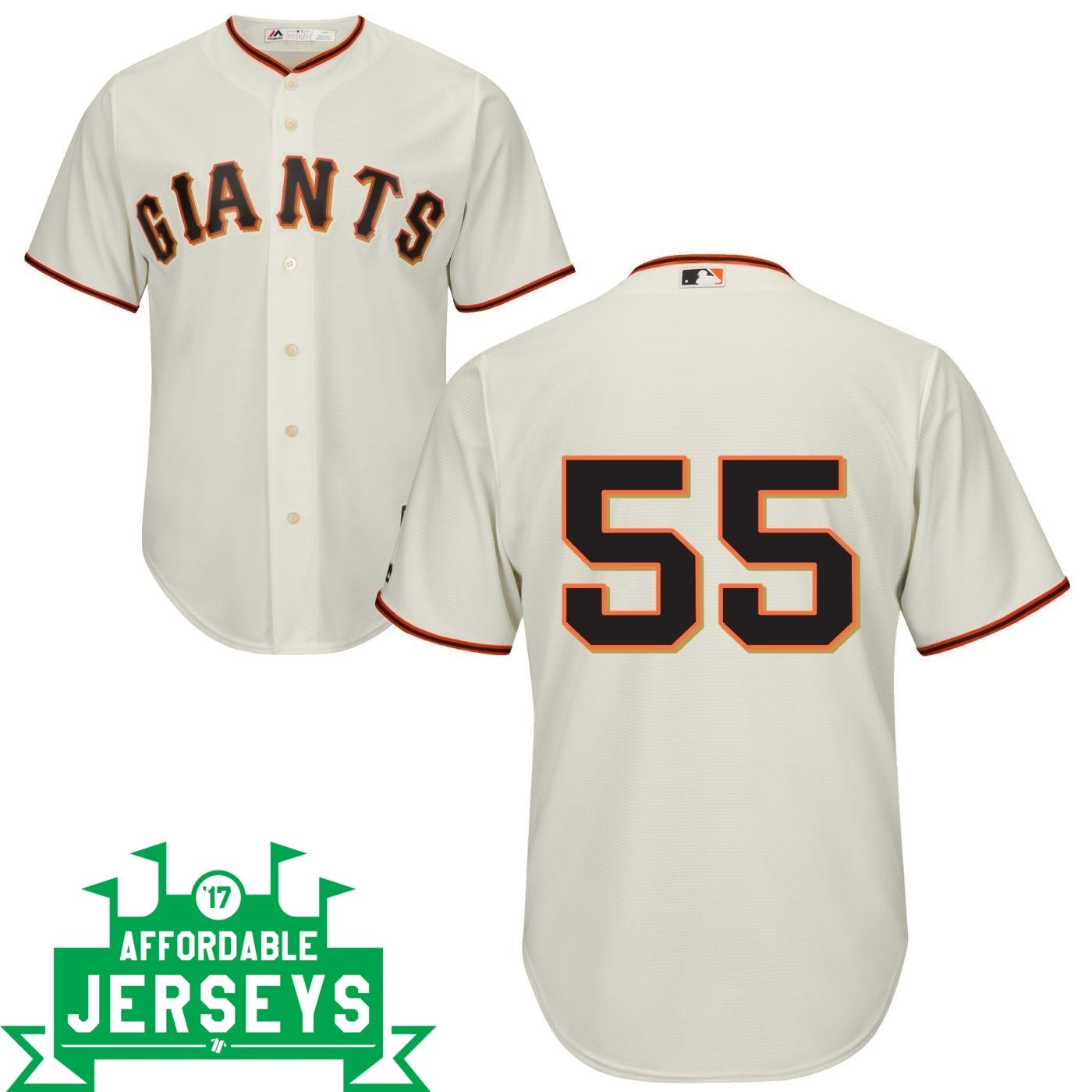 Tim Lincecum Home Cool Base Player Jersey - AffordableJerseys.com