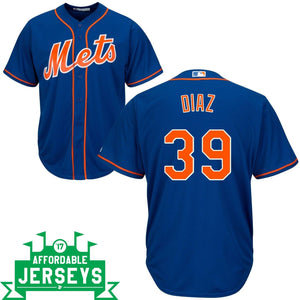 Edwin Diaz Alternate Cool Base Player Jersey - AffordableJerseys.com