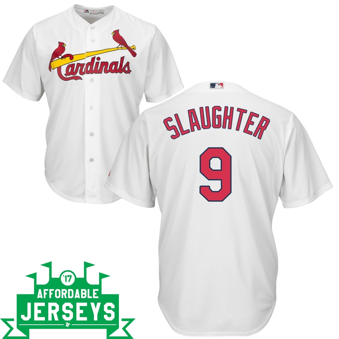 Enos Slaughter Home Cool Base Player Jersey