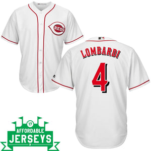 Ernie Lombardi Home Cool Base Player Jersey - AffordableJerseys.com