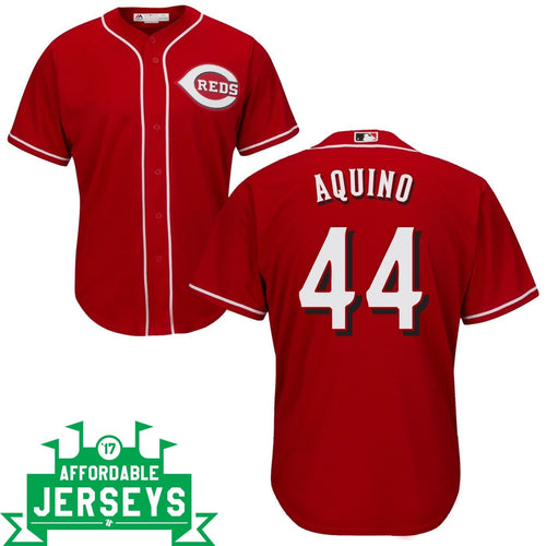 Aristides Aquino Road Cool Base Player Jersey - AffordableJerseys.com