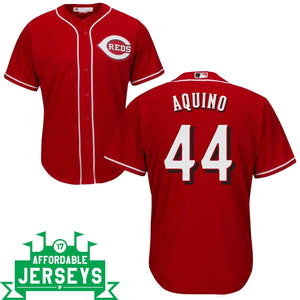 Aristides Aquino Road Cool Base Player Jersey