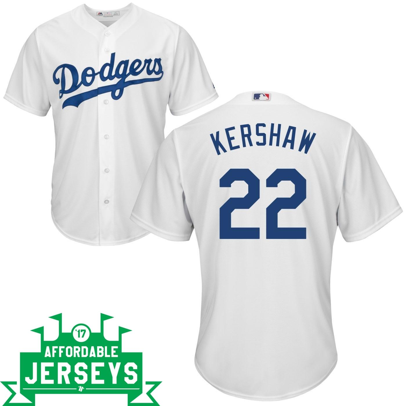 Clayton Kershaw Home Cool Base Player Jersey - AffordableJerseys.com