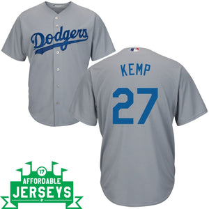 Matt Kemp Road Cool Base Player Jersey