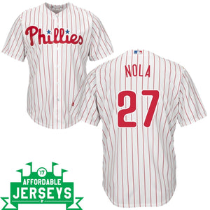 Aaron Nola Home Cool Base Player Jersey