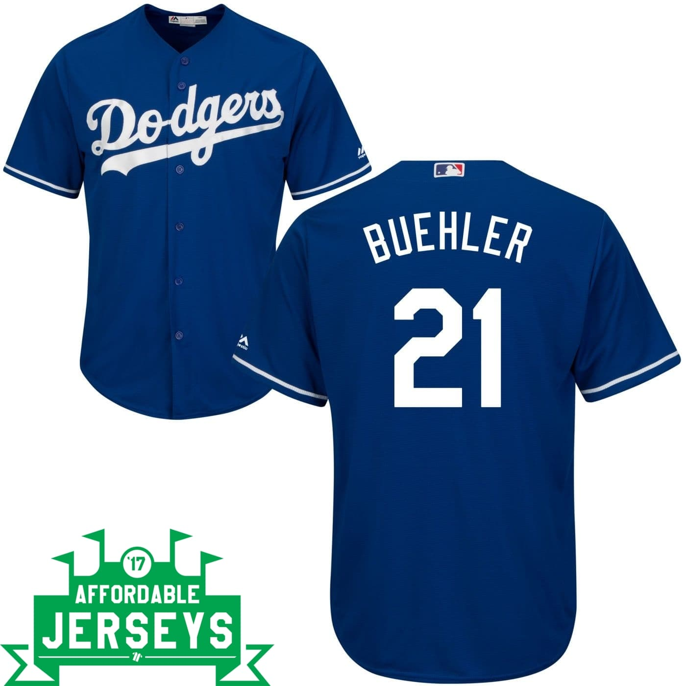 Walker Buehler Alternate Cool Base Player Jersey