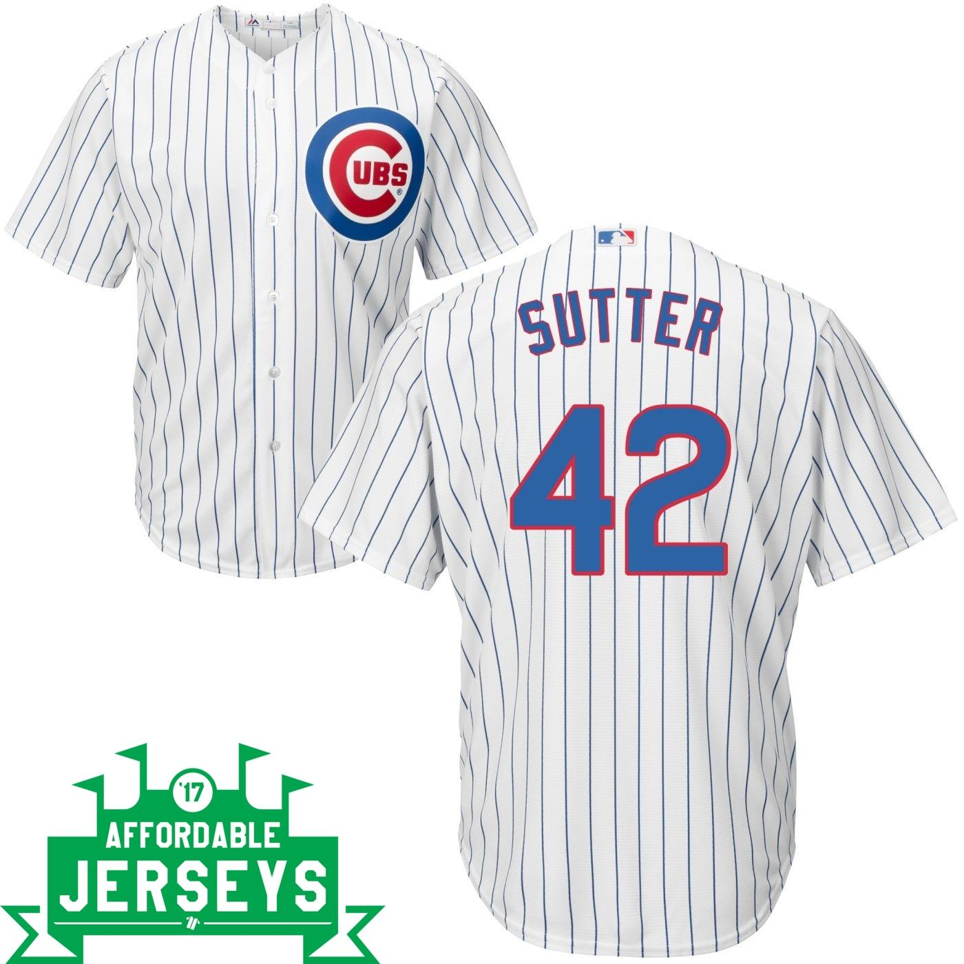 Bruce Sutter Home Cool Base Player Jersey