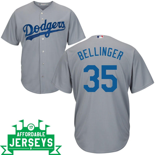 Cody Bellinger Road Cool Base Player Jersey - AffordableJerseys.com