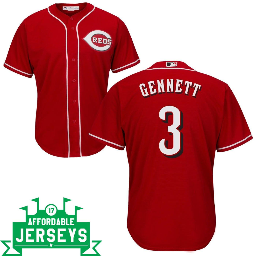Scooter Gennett Road Cool Base Player Jersey