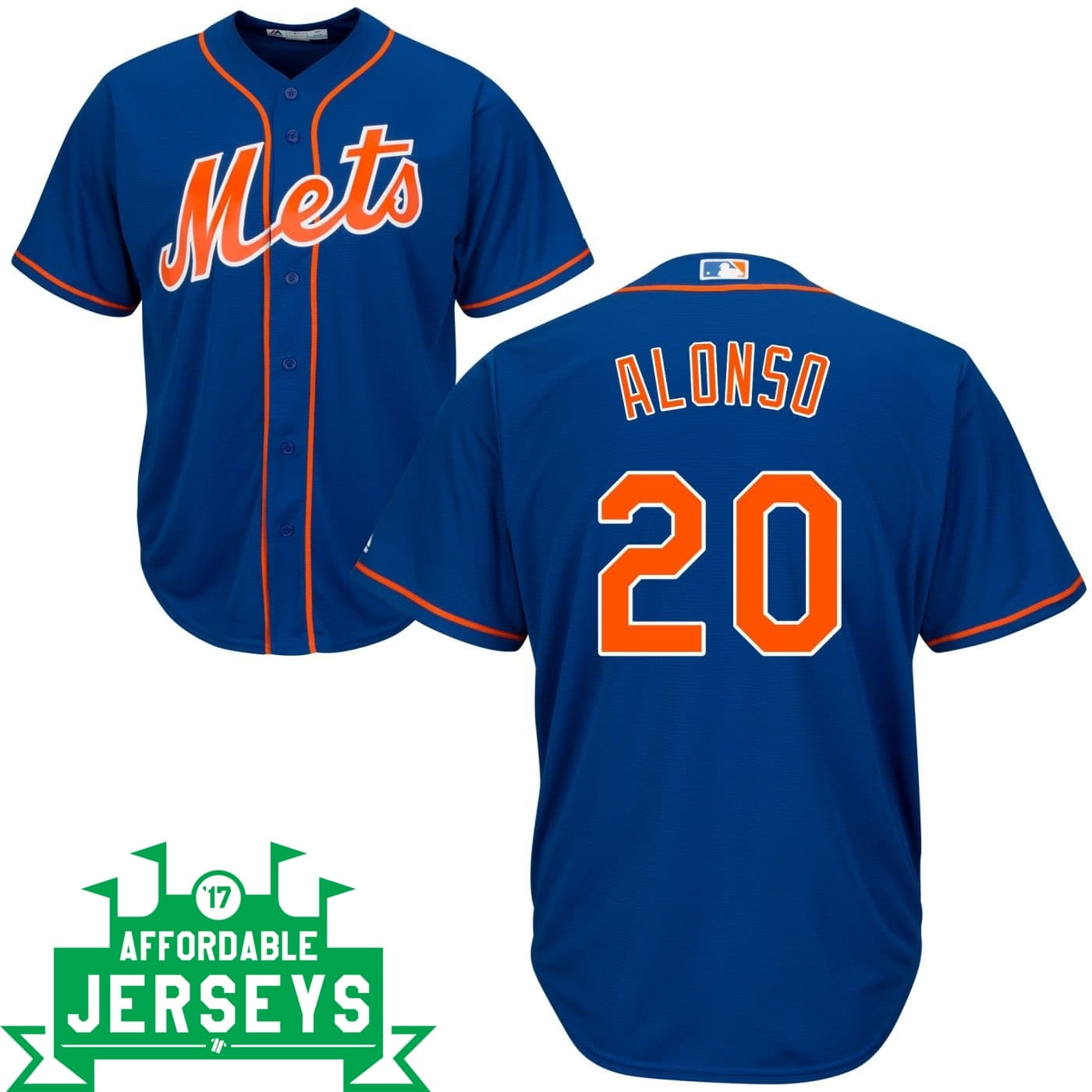 Pete Alonso Alternate Cool Base Player Jersey - AffordableJerseys.com