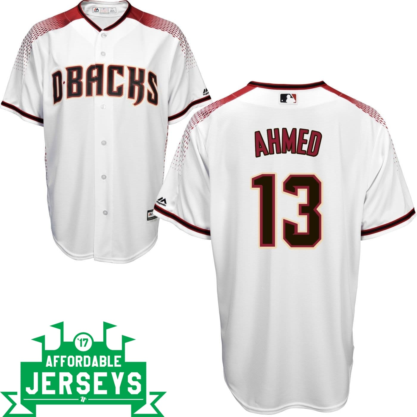 Nick Ahmed Home Cool Base Player Jersey - AffordableJerseys.com