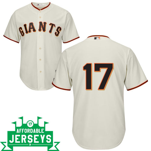 Aubrey Huff Home Cool Base Player Jersey