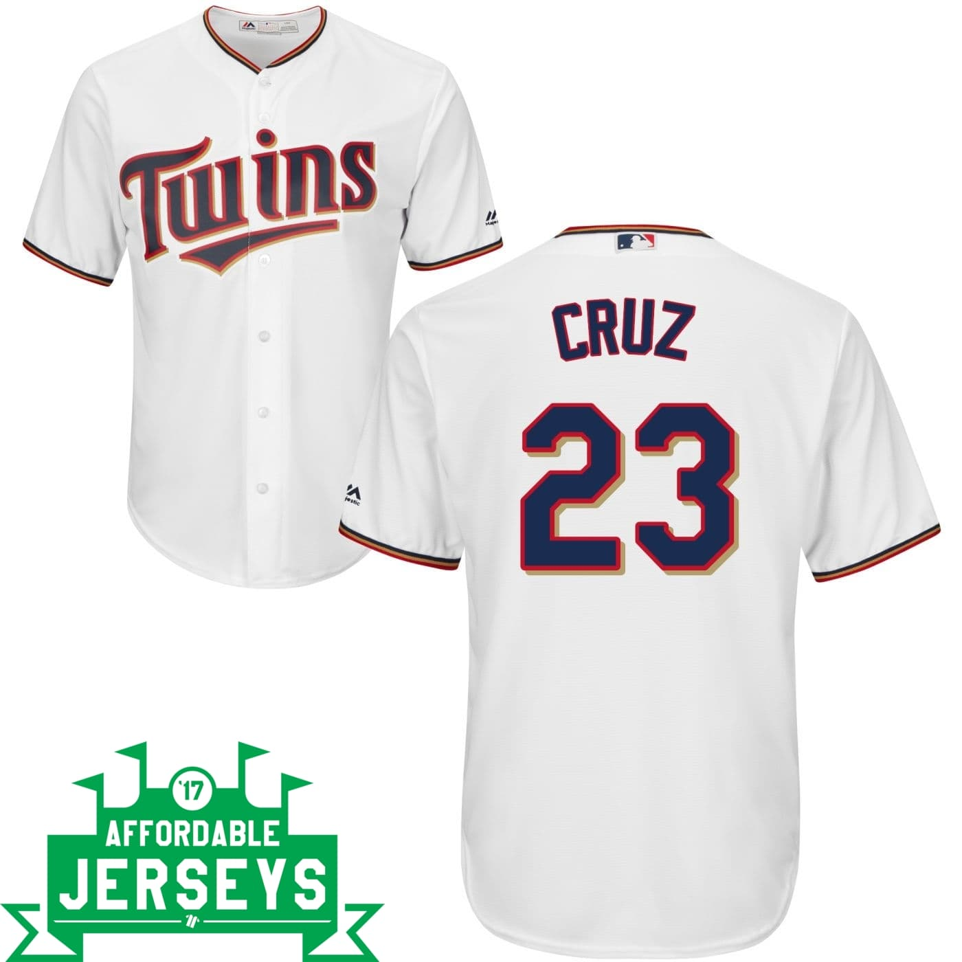 Nelson Cruz Home Cool Base Player Jersey - AffordableJerseys.com