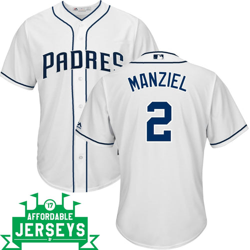 Johnny Manziel Home Cool Base Player Jersey - AffordableJerseys.com