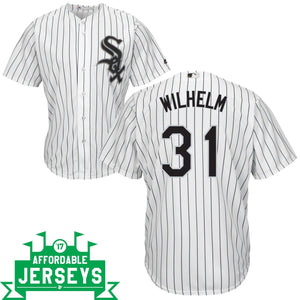 Hoyt Wilhelm Home Cool Base Player Jersey - AffordableJerseys.com