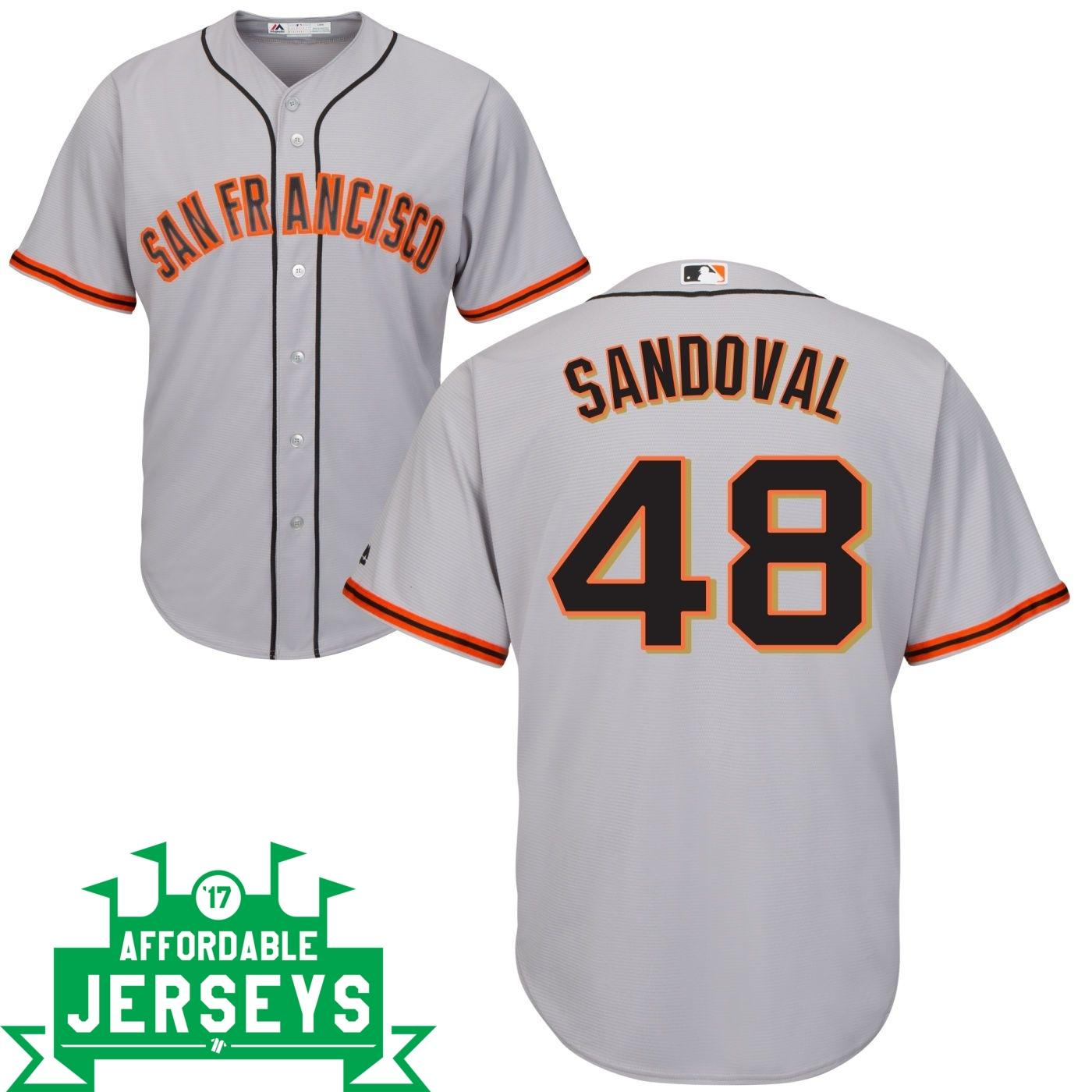 Pablo Sandoval Road Cool Base Player Jersey - AffordableJerseys.com