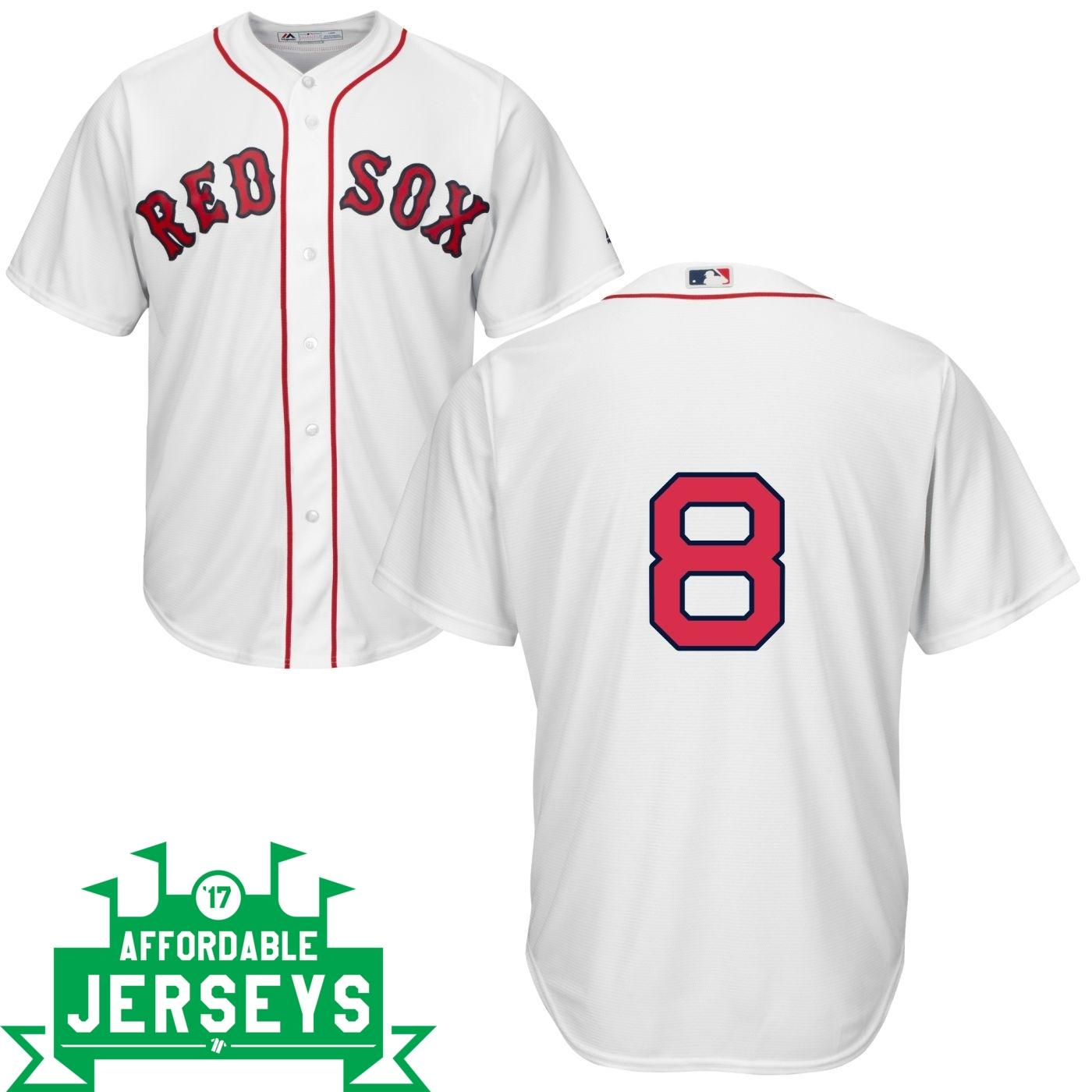 Carl Yastrzemski Home Cool Base Player Jersey - AffordableJerseys.com