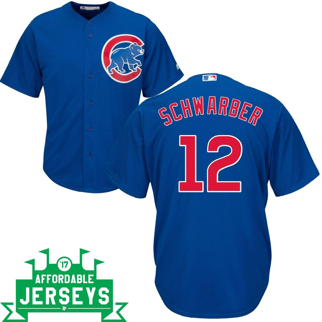 Kyle Schwarber Road Cool Base Player Jersey