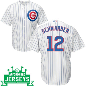 Kyle Schwarber Home Cool Base Player Jersey