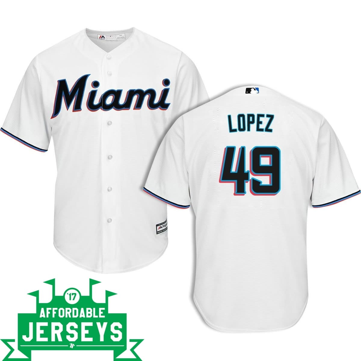 Pablo López Home Cool Base Player Jersey - AffordableJerseys.com