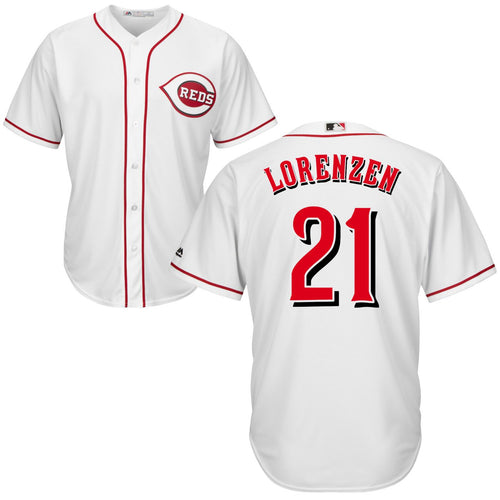 Michael Lorenzen Home Cool Base Player Jersey - AffordableJerseys.com
