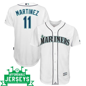 Edgar Martinez Home Cool Base Player Jersey - AffordableJerseys.com