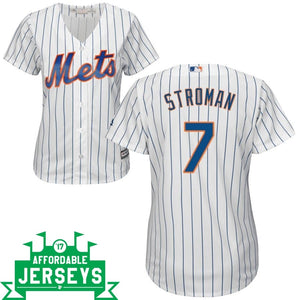 Marcus Stroman Home Women's Cool Base Player Jersey - AffordableJerseys.com