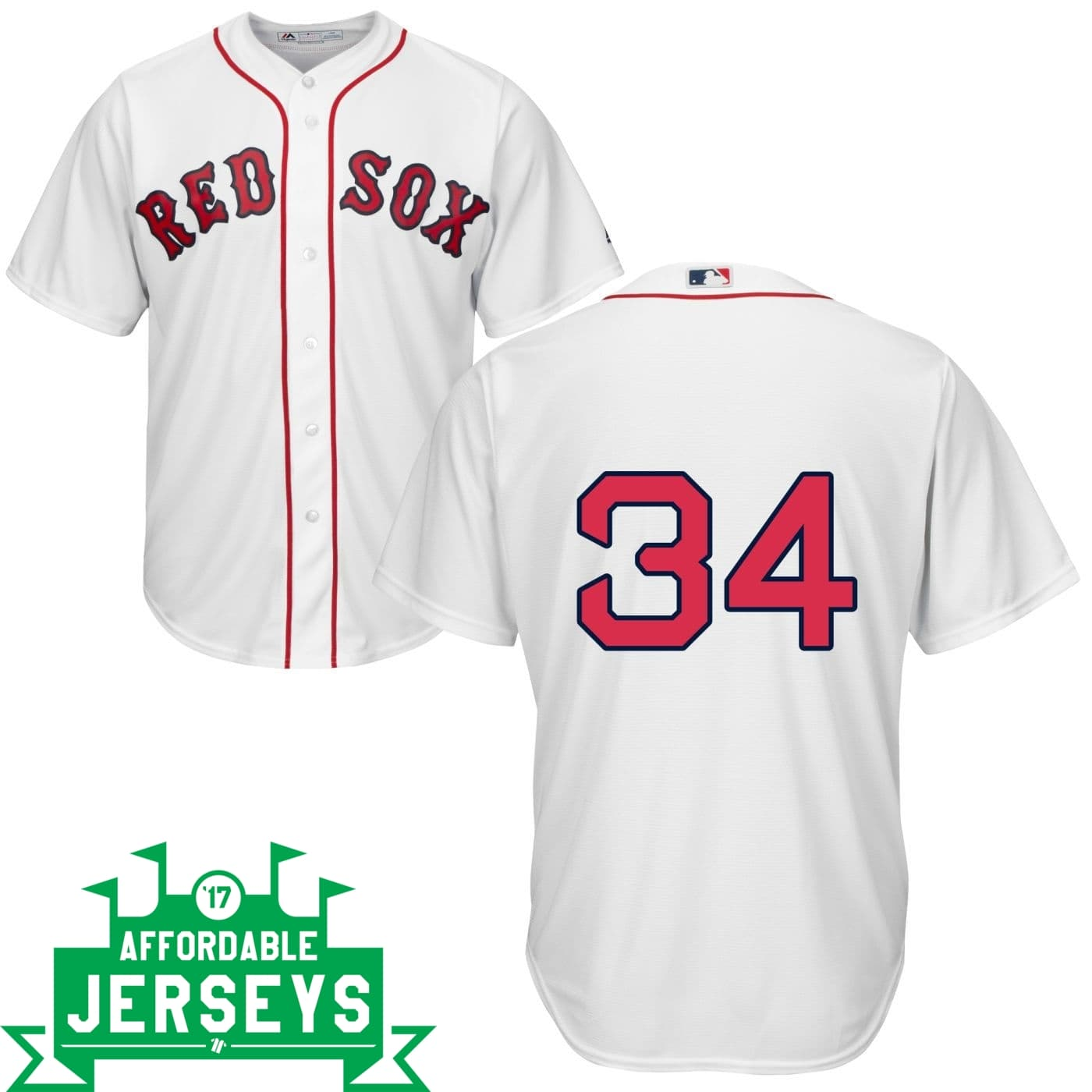 David Ortiz Home Cool Base Player Jersey - AffordableJerseys.com