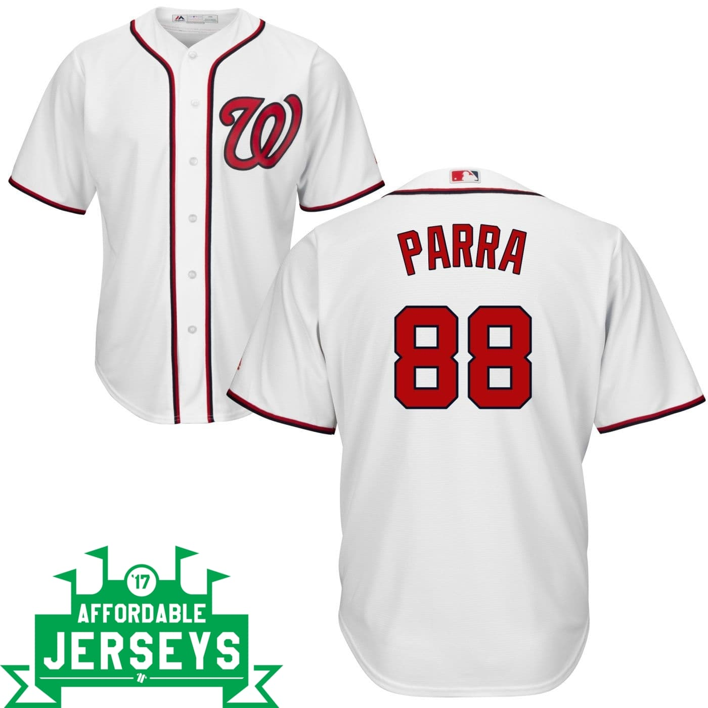 Gerardo Parra Home Cool Base Player Jersey - AffordableJerseys.com