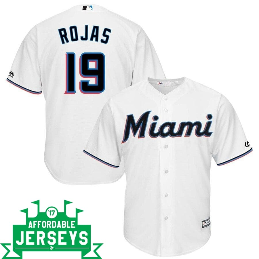 Miguel Rojas Home Cool Base Player Jersey - AffordableJerseys.com