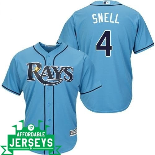 Blake Snell Alternate Cool Base Player Jersey - AffordableJerseys.com