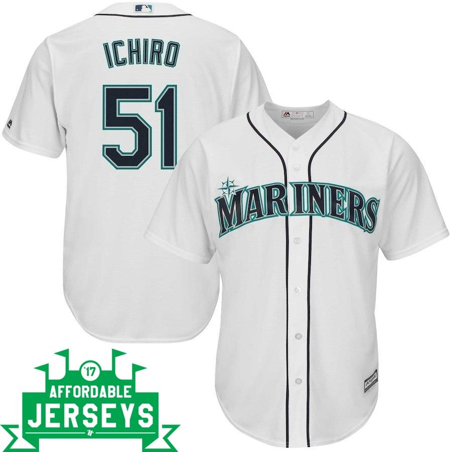 Ichiro Suzuki Home Cool Base Player Jersey - AffordableJerseys.com